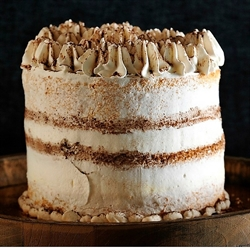 Picture of Cinnamon Espresso Cake with Cinnamon Whipped Cream