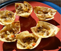 Picture of Crab and Shrimp Wontons