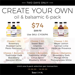 Picture of CREATE YOUR OWN OIL & BALSAMIC | 6-PACK